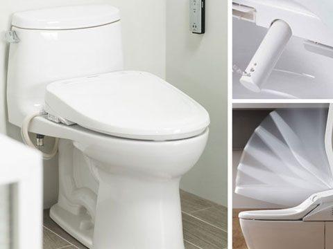 Nắp rửa tự động - Washlet - TOTO Vietnam