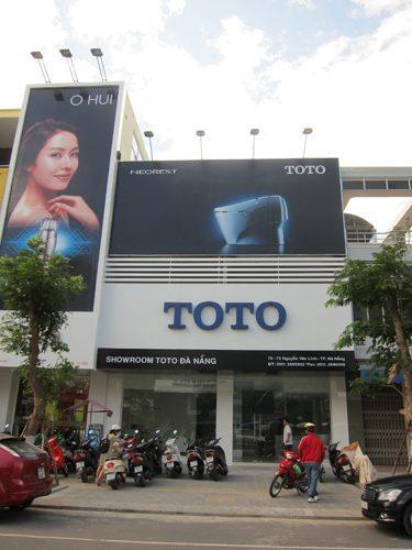 Showroom thiết bị vệ sinh TOTO Đà Nẵng (chính thức)