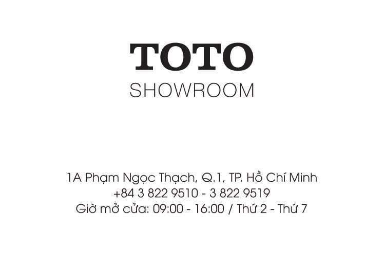 Thông tin Showroom TOTO HCM