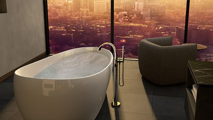 bồn tắm nằm