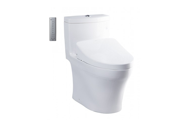 One- Piece Toilets with WASHLET
