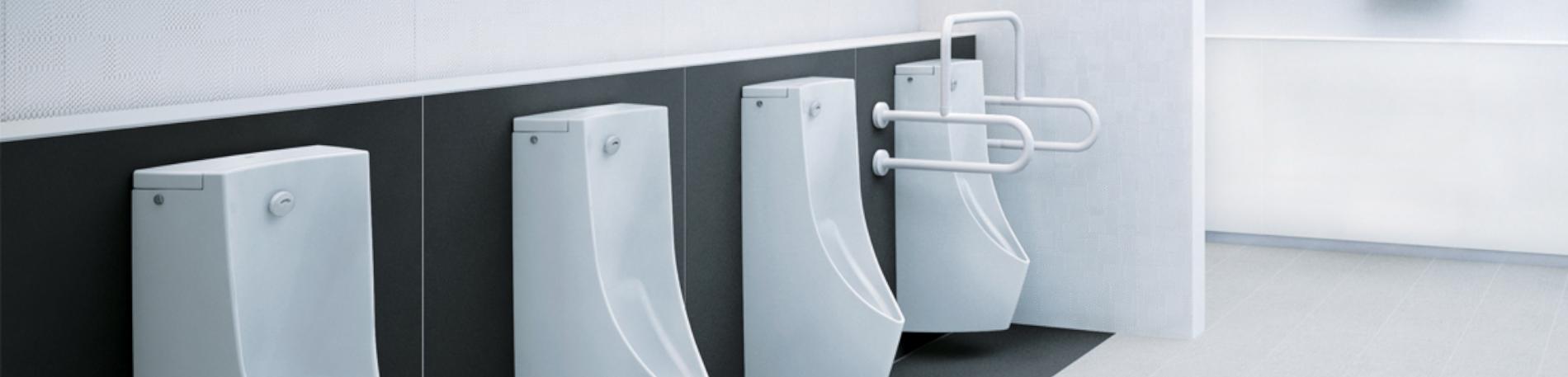 Concealed urinal sensor